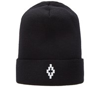 Marcelo Burlon Cruz Beanie Black