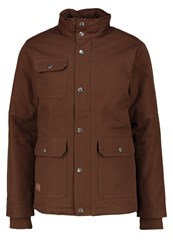 Dc Shoes Light Jacket Dark Earth Brown