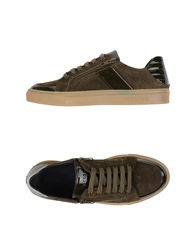 Iceberg Low Tops And Trainers Military Green