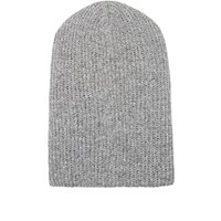 The Elder Statesman Women's Kisser Beanie Grey