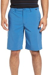 Travis Mathew Men's 'Hefner' Stretch Golf Shorts Snorkel Blue