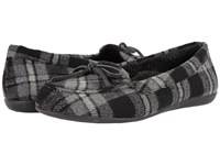Vionic Cozy Ida Slipper Grey Plaid Women's Flat Shoes Multi