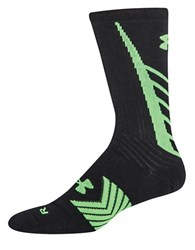 Under Armour Undeniable Crew Socks Black Green