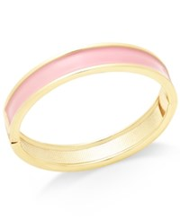 Charter Club Gold Tone Colorful Enamel Bangle Bracelet Only At Macy's