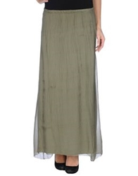 Bramante Long Skirts Military Green