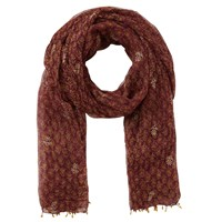 East Anokhi Arden Scarf Raisin