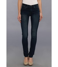 Calvin Klein Jeans Mid Rise Skinny In Green Tomatoes Green Tomatoes Women's Blue