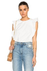 M.I.H Jeans Caval Top In White