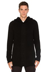 Helmut Lang Hooded Sweater Black
