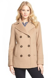 Fleurette Loro Piana Wool Peacoat Nordstrom Exclusive Camel