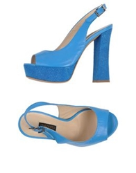 Del Gatto Sandals Azure