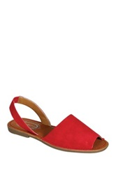 Refresh Clori Flat Sandal Red