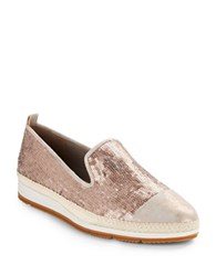 Paul Green Joaquin Leather Loafers Rose Gold