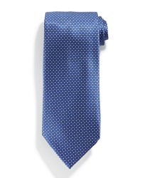 Stefano Ricci Neat Patterned Silk Tie White