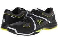 Wilson Nvision Black Solar Lime Men's Tennis Shoes