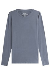 Majestic Long Sleeved Top With Cotton And Cashmere Gr. M