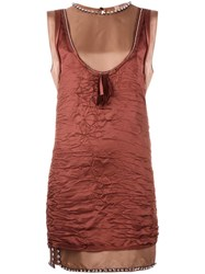 N 21 No21 Tank Dress Pink Purple