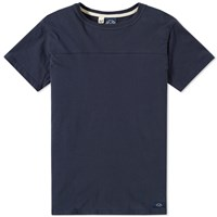 Bleu De Paname Chest Seam Tee Blue
