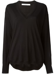 Givenchy Slit Sleeves Sweater Black