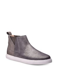 Splendid Sacha Slip On Chelsea Sneakers Pewter