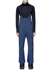 Burton 'Hi Top' Suspender Ski Pants Blue