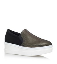 Kg By Kurt Geiger Lizard Flatform Sneakers Female