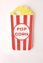 Missguided Popcorn Iphone 5 Case Multi Red