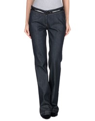 Fay Denim Denim Trousers Women Black