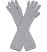 Johnstons Long Cashmere Gloves Coyote