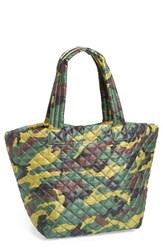 M Z Wallace Mz Wallace 'Medium Metro Camo' Quilted Oxford Nylon Tote