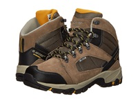 Hi Tec Borah Peak I Shield Waterproof Smokey Brown Taupe Gold Men's Hiking Boots Mahogany