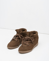 Isabel Marant Bobby Low Top Sneaker Camel