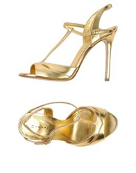 Martin Clay Sandals Gold