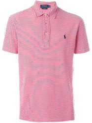 Polo Ralph Lauren Striped Polo Shirt Red