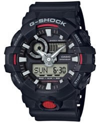 G Shock Men's Analog Digital Black Resin Strap Watch 57X48mm Ga700 1A