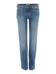 Levi's 714 Straight Jeans Denim Light Wash