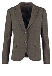 Gant Bird Eye Blazer Moss Green