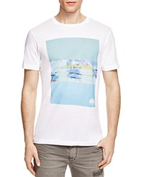 Sundek Logan Graphic Tee White