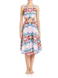 6 Shore Road Diver's Midi Dress Multi