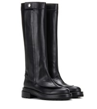 Marni Leather Knee High Boots Black