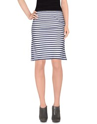 .. Merci Skirts Knee Length Skirts Women Dark Blue