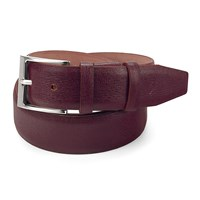 Aspinal Of London Classic Mens Belt Burgundy