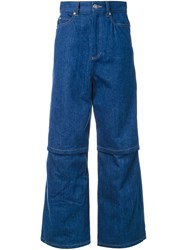 G.V.G.V. Open Knee Jeans Blue