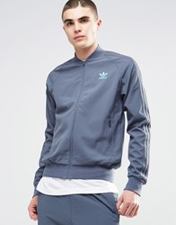 Adidas Originals Utility Track Jacket Ay7979 Blue