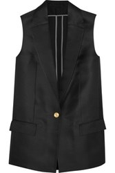 Acne Studios Roana Silk Blend Vest Black