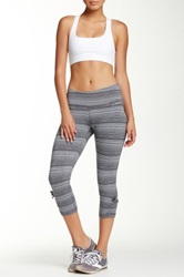 Brooks Urban Run Capri Pant Gray