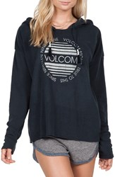Volcom Women's 'Lived In' Graphic Hooded Pullover