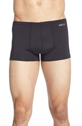 Men's Naked 'Active' Microfiber Trunks Black