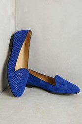 Anthropologie Chatelles Honore Loafers Blue