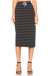 Saint Grace Midi Skirt Black